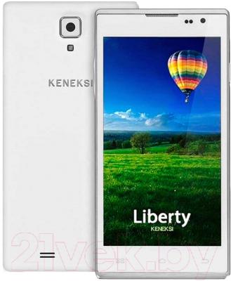Смартфон Keneksi Liberty (белый)