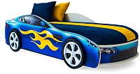 Стилизованная кровать детская Бельмарко Бондмобиль / 554 (синий) -