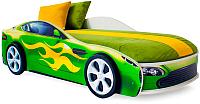 Детская кровать-машинка Бельмарко Бондмобиль / 559 (зеленый) -