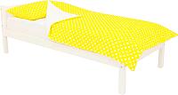 Односпальная кровать детская Бельмарко Skogen classic / 575 (белый) -