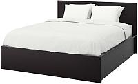 Двуспальная кровать Ikea Мальм 492.110.39 -
