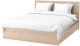 Двуспальная кровать Ikea Мальм 692.109.63 -