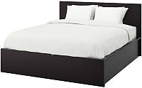 Двуспальная кровать Ikea Мальм 792.110.28 -