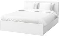 Двуспальная кровать Ikea Мальм 892.110.18 -