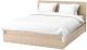 Двуспальная кровать Ikea Мальм 992.109.47 -