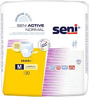 Трусы впитывающие для взрослых Seni Active Normal Medium (30шт) -