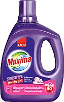 Гель для стирки Sano Maxima Laundry Gel Coldwater Sensitive (2л) -