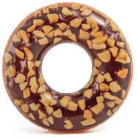 Круг для плавания Intex Шоколадный пончик 56262 -