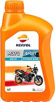 Моторное масло Repsol Moto Sport 4T 10W30 / RP180B51 (1л) -