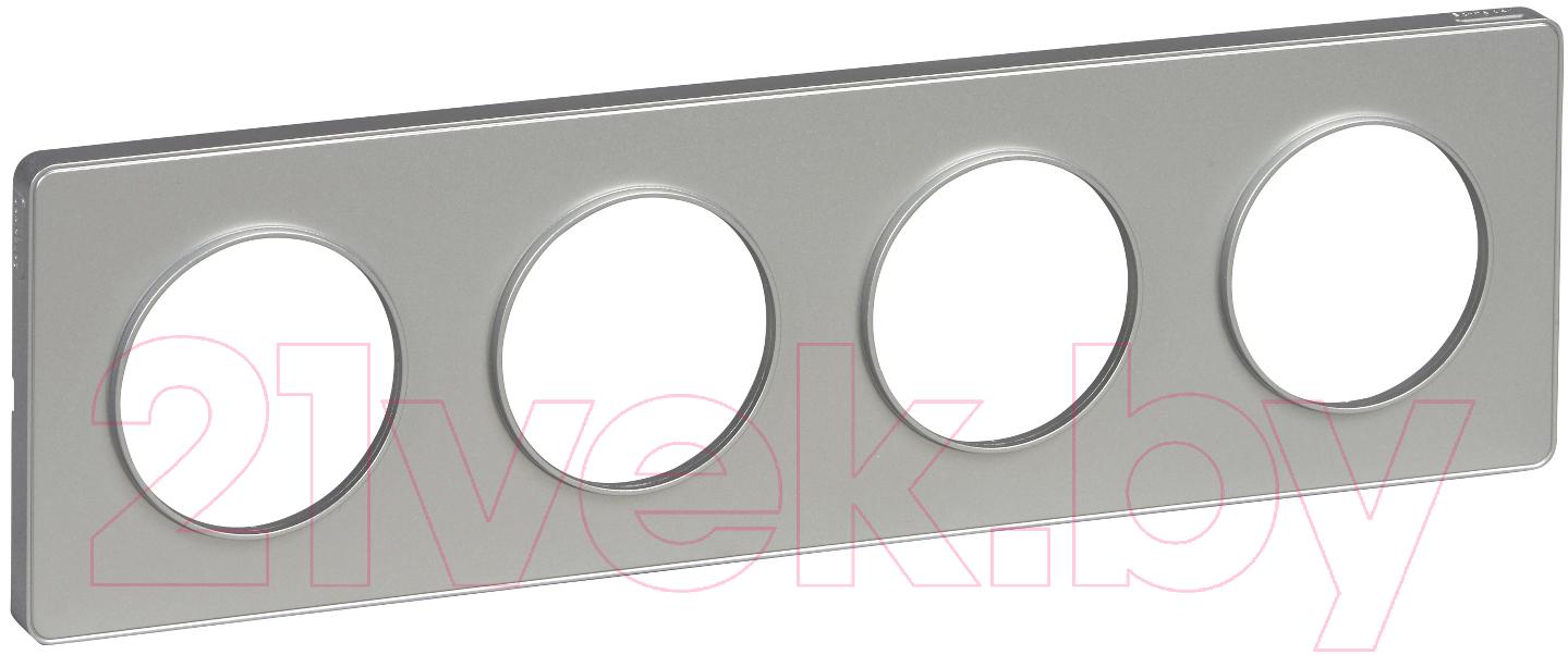 Купить Рамка для выключателя Schneider Electric, Odace S53P808, Россия, пластик, Odace (Schneider Electric)