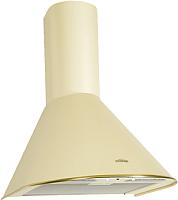 Вытяжка купольная Elikor Эпсилон 50П-430-П3Л (ваниль/золото) -