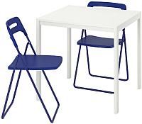Обеденная группа Ikea Мельторп/Ниссе 492.807.06 -