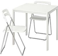 Обеденная группа Ikea Мельторп/Ниссе 692.297.45 -