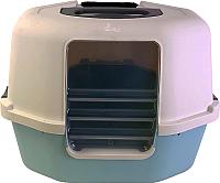 Туалет-лоток Catit 36612 (серый/голубой) -