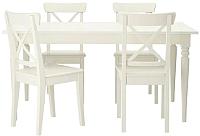 Обеденная группа Ikea Ингаторп/Ингольф 292.298.46 -