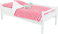 Кровать-тахта детская Бельмарко Skogen / 599 (белый) -