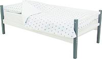 Кровать-тахта Бельмарко Skogen / 609 (графитовый/белый) -