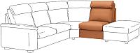 Модуль мягкий Ikea Лидгульт 004.131.85 -