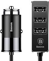 Зарядное устройство автомобильное Baseus Patulous QC 3.0 (черный) -
