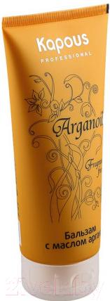 Купить Бальзам для волос Kapous, Arganoil увлажняющий с маслом арганы / 321 (200мл), Италия, Arganoil (Kapous)