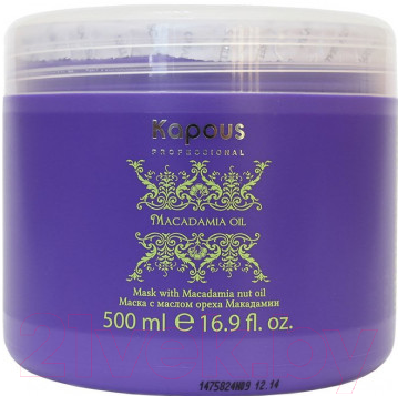 Купить Маска для волос Kapous, Macadamia Oil с маслом ореха макадамии / 894 (500мл), Италия, Macadamia Oil (Kapous)