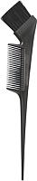 Кисть для окрашивания волос Kapous Из искусственных волокон с расческой / 11884 (черный) -