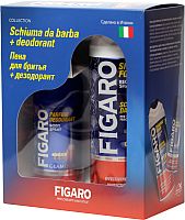 Набор косметики для лица и тела Figaro Пена д/бритья 400мл + дезодорант д/тела Glamour 150мл -
