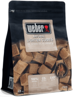 Кубики деревянные для розжига Weber 17612 -