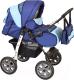 Детская универсальная коляска Smile Line Alf I (al08, синий/голубой) -