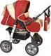 Детская универсальная коляска Smile Line Alf I (al10, красный/бежевый) -