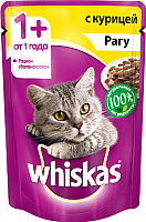 Корм для кошек Whiskas Рагу с курицей (85г) -