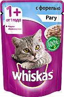 Корм для кошек Whiskas Рагу с форелью (85г) -