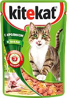 Корм для кошек Kitekat С кроликом в желе (85г) -