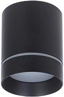 Точечный светильник Elektrostandard DLR021 9W 4200K (черный матовый) -