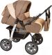 Детская универсальная коляска Smile Line Alf I (al01, темно-бежевый/светло-бежевый) -