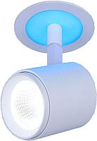 Спот Elektrostandard DSR002 9W 6500K (белый матовый, подсветка Blue) -
