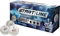 Мячи для настольного тенниса Start Line Expert 3 ITTF / 8334 (10шт) -
