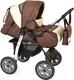Детская универсальная коляска Smile Line Alf I (al02, коричневый/светло-бежевый) -