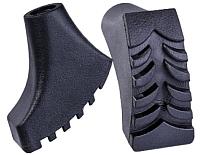 Комплект наконечников для скандинавских палок Berger Черный (2шт) -