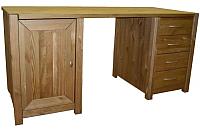 Письменный стол ММЦ Фьорд двухтумбовый (бейц) -