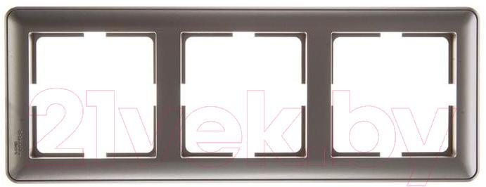 Купить Рамка для выключателя Schneider Electric, W59 KD-3-48, Россия, ABS-пластик, W59 (Schneider Electric)