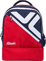 Рюкзак Jogel Double Bottom / JBP-1903-291 (красный/темно-синий/белый) -