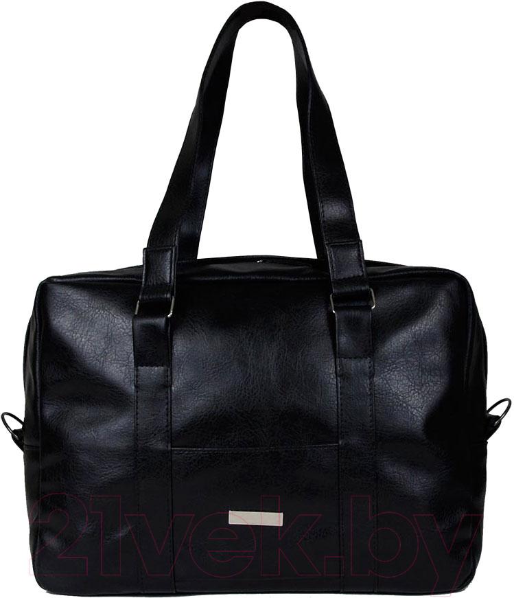 Купить Дорожная сумка BorZa, 715-00401 (черный), Беларусь, искусственная кожа