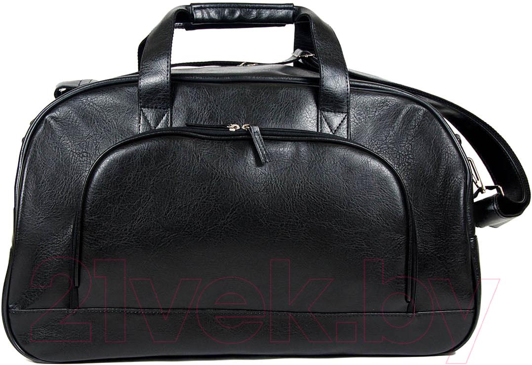 Купить Дорожная сумка BorZa, 714-03301 (черный), Беларусь, искусственная кожа