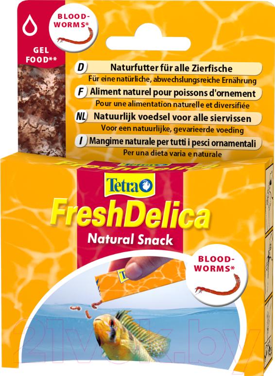 Купить Корм для рыб Tetra, Fresh Delica Bloodworms / 709903/768741 (48г), Германия