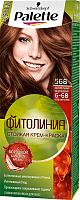 Крем-краска для волос Palette Фитолиния 568 / 6-68 (карамельный каштановый) -