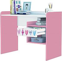 Письменный стол Polini Kids Fun 1000 Тролли (розовый) -