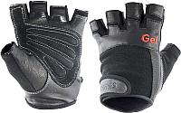 Перчатки для пауэрлифтинга Torres PL6049XL (XL, черный) -