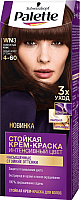 Крем-краска для волос Palette Стойкая WN3 / 4-60 (золотистый кофе) -