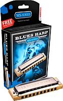 Губная гармошка Hohner Blues Harp 532/20 MS D (M533036) -